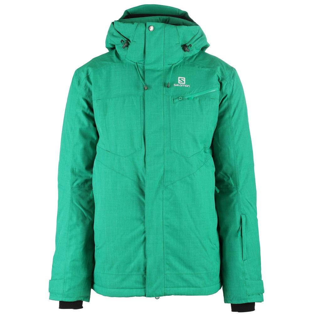 爆買い! サロモン メンズ スキー Ski・スノーボード アウター サロモン【Fantsy Ski Jacket メンズ】Real Green, さんじょうインテリア:2e5a0cca --- konecti.dominiotemporario.com