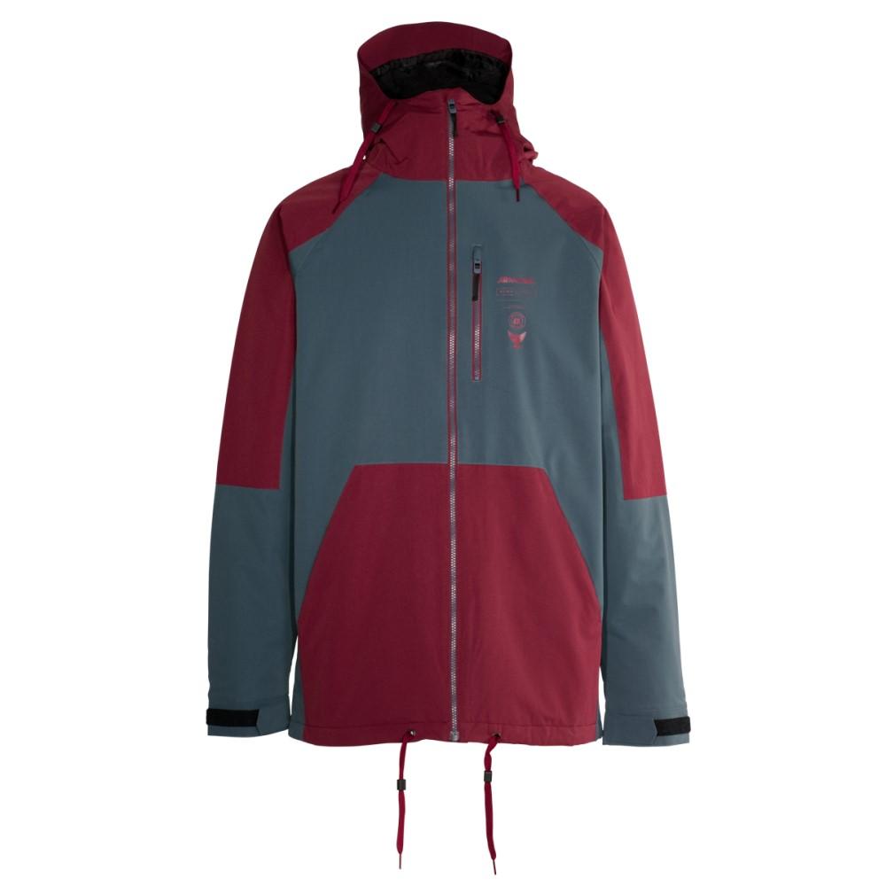 【即発送可能】 アルマダ メンズ スキー アルマダ Insulated・スノーボード アウター【Carson メンズ Insulated Ski Jacket】Burgundy, 飯島生花店:8add47ec --- canoncity.azurewebsites.net