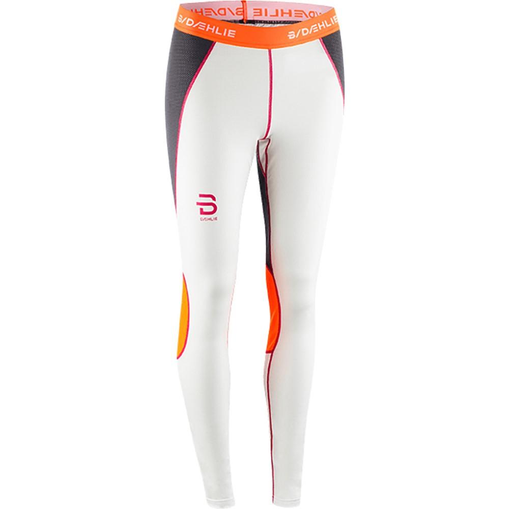 ビョルン ダーリ レディース スキー・スノーボード ボトムス・パンツ【Pants Tech Baselayer Pants 2018】White/ Grey/ Orange/ Pink