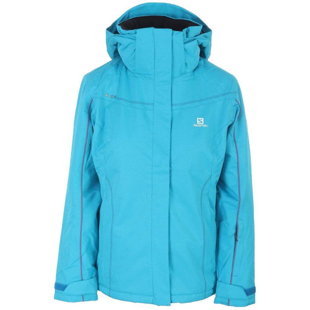 サロモン レディース スキー・スノーボード アウター【Stormseeker Ski Jacket】Kouak Blue