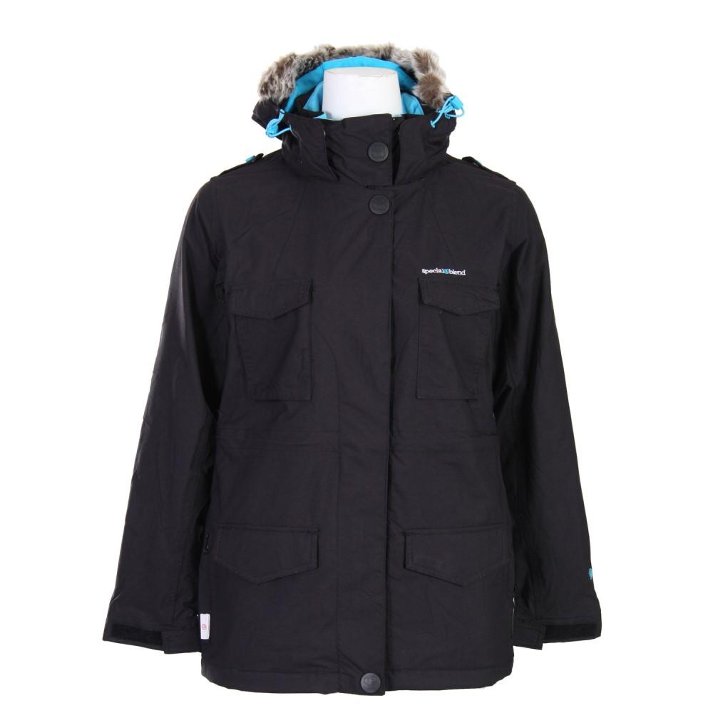スペシャル ブレンド レディース スキー・スノーボード アウター【Proper Snowboard Jacket】Blackout