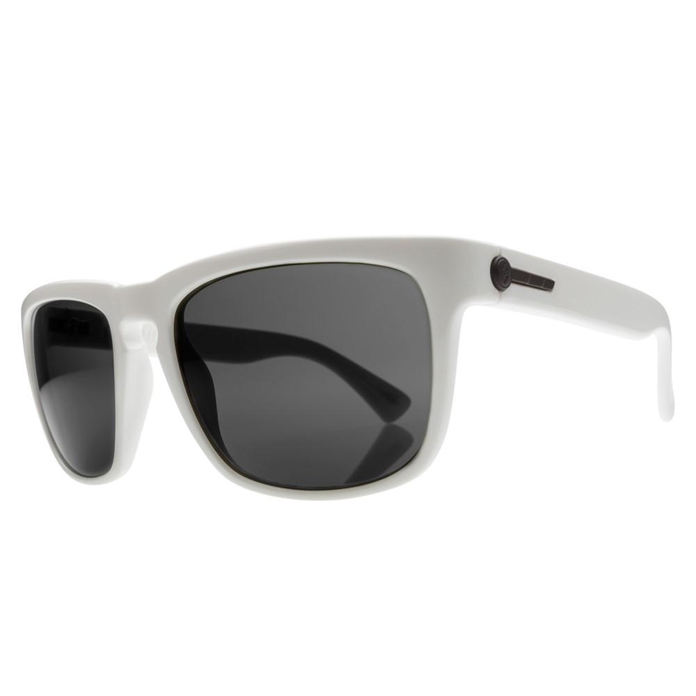 エレクトリック メンズ メガネ・サングラス【Knoxville Sunglasses】Gloss White/ M. Grey Lens