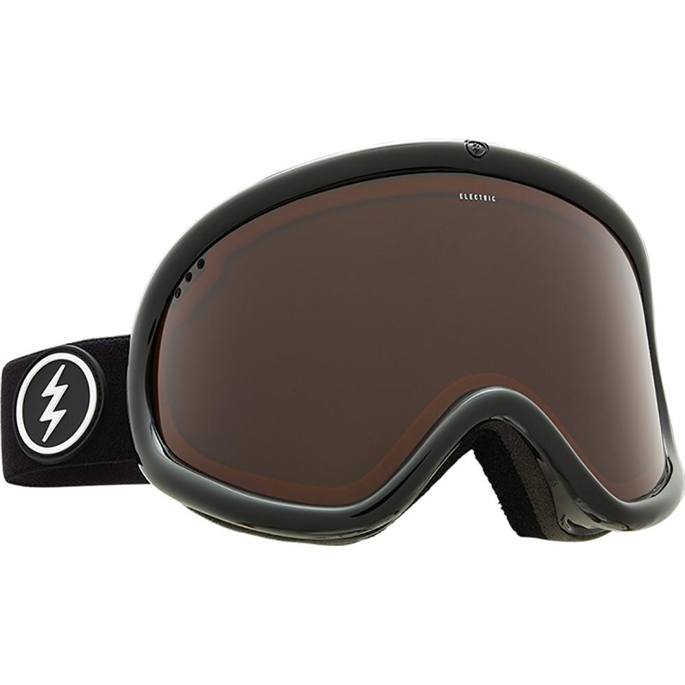 エレクトリック メンズ スキー・スノーボード ゴーグル【Charger XL Goggles 2018】Gloss Black/ Brose Lens