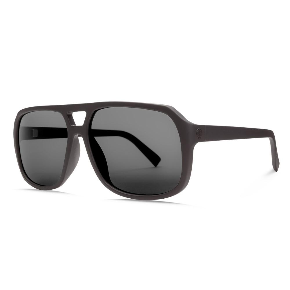 エレクトリック メンズ メガネ・サングラス【Dude Sunglasses】Matte Black/ Ohm Grey Lens
