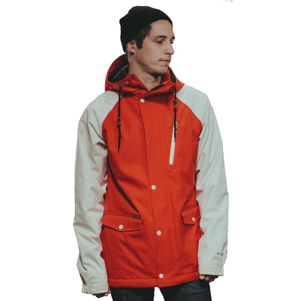 【受注生産品】 ホールデン メンズ Red/ メンズ スキー・スノーボード アウター【Varsity Bone Snowboard Jacket】Fiery Red/ Bone, エイコShop:d150ab62 --- canoncity.azurewebsites.net