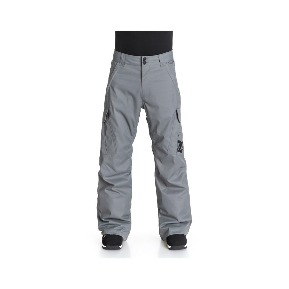 ディーシー メンズ スキー・スノーボード ボトムス・パンツ【Banshee Snowboard Pants】Pewter