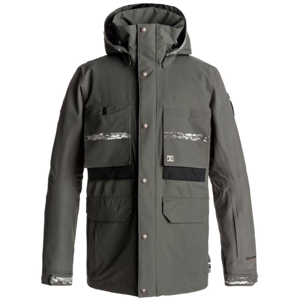 ディーシー メンズ スキー・スノーボード アウター【Company SPT Snowboard Jacket 2018】Dark Shadow