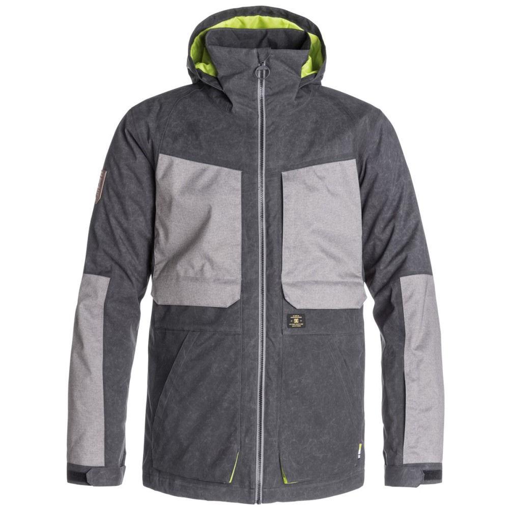 ディーシー メンズ スキー・スノーボード アウター【Kingdom Snowboard Jacket】Anthracite