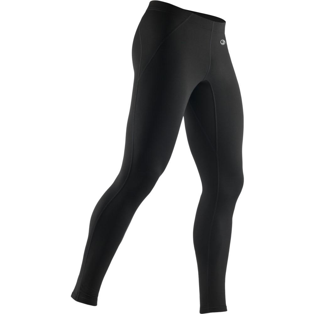 アイスブレーカー メンズ スキー・スノーボード ボトムス・パンツ【Tracer Tights Baselayer Pants】Black