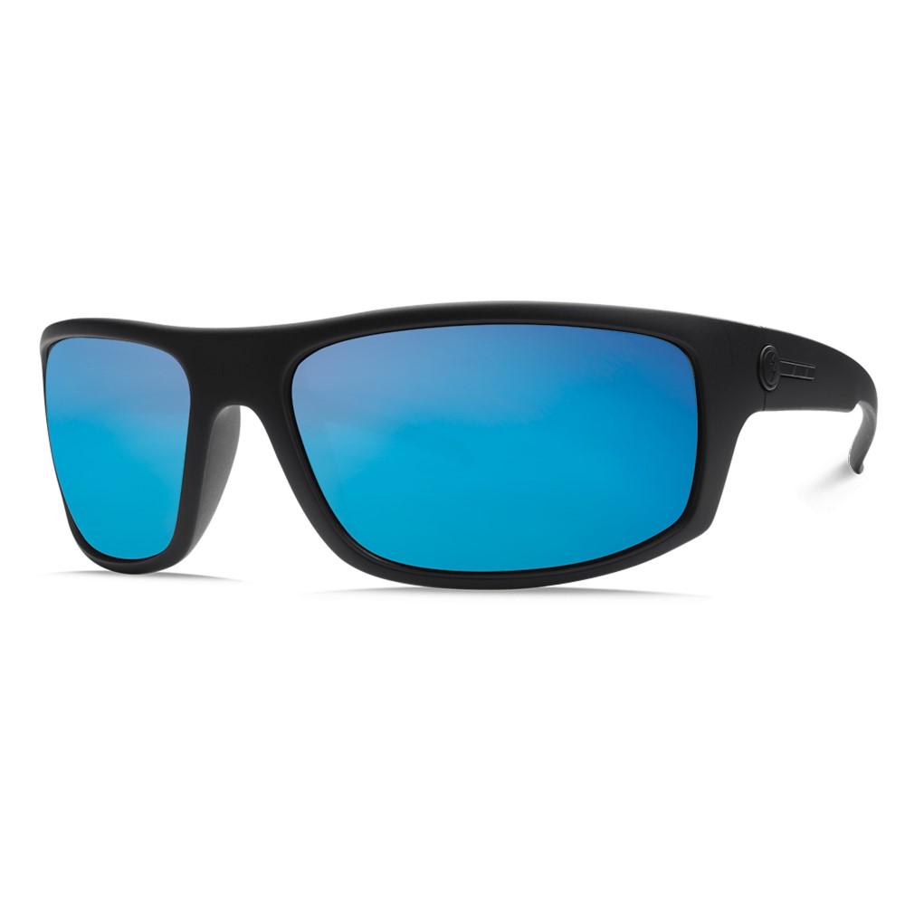 エレクトリック メンズ メガネ・サングラス【Tech One Sunglasses】Matte Black/ M Grey Blue Chrome Lens