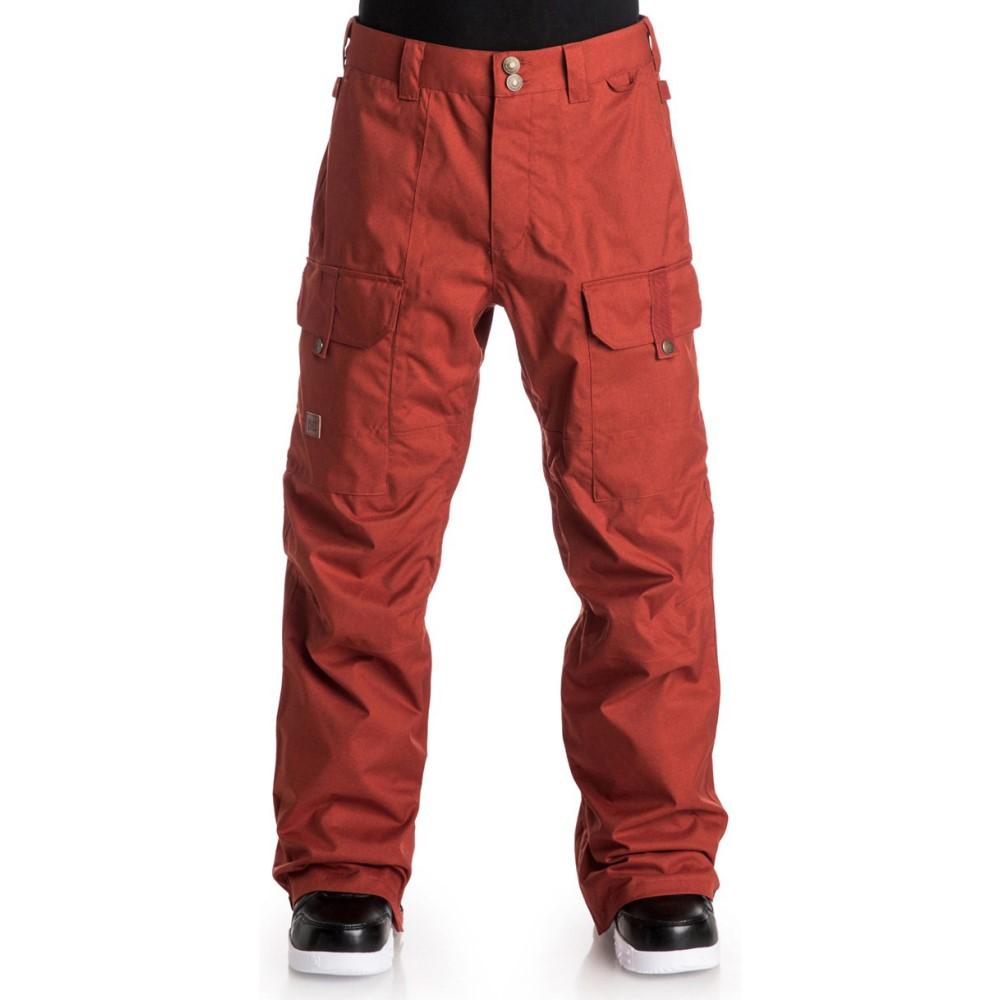 ディーシー メンズ スキー・スノーボード ボトムス・パンツ【Code Snowboard Pants】Ketchup Red