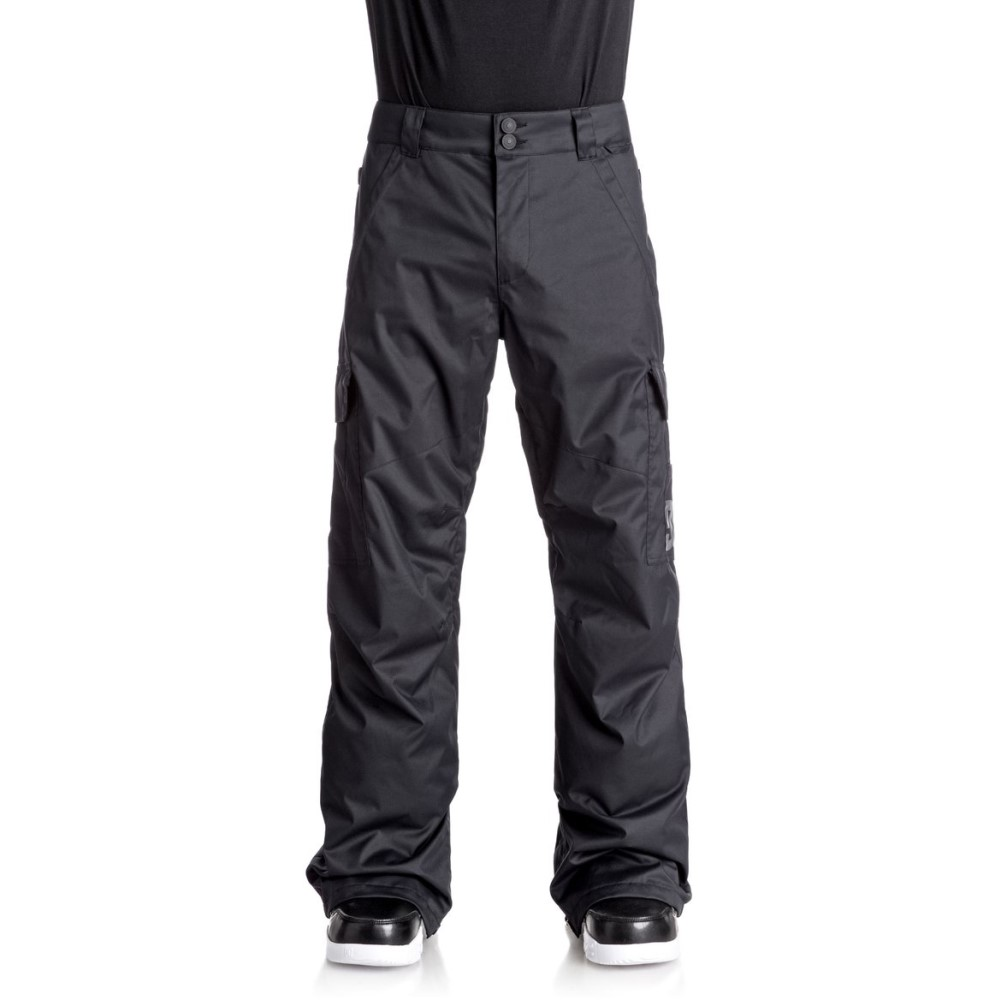 ディーシー メンズ スキー・スノーボード ボトムス・パンツ【Banshee Snowboard Pants 2018】Black