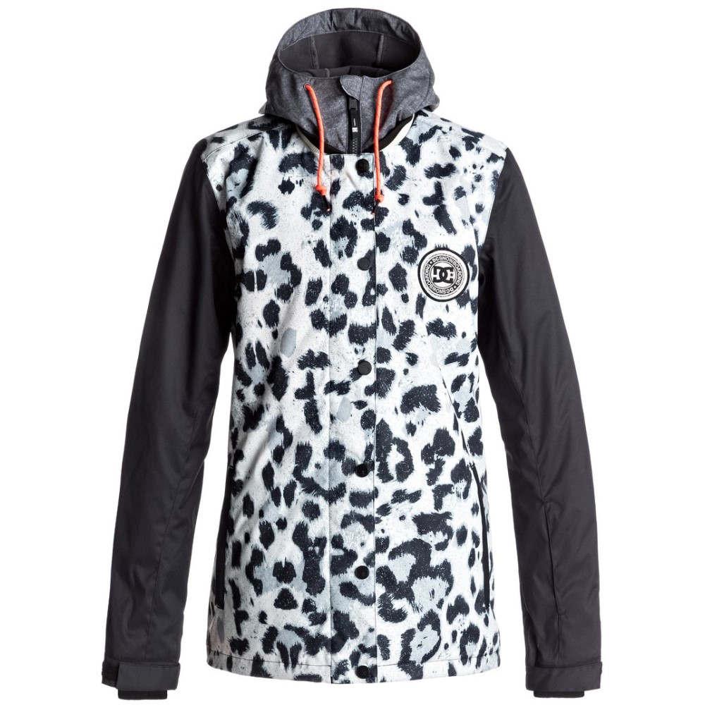 ディーシー レディース スキー・スノーボード アウター【LA Snowboard Jacket 2018】Snow Leopard