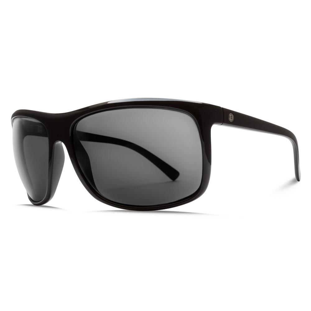 エレクトリック メンズ メガネ・サングラス【Outline Sunglasses】Gloss Black/ M Grey Polarized Lens