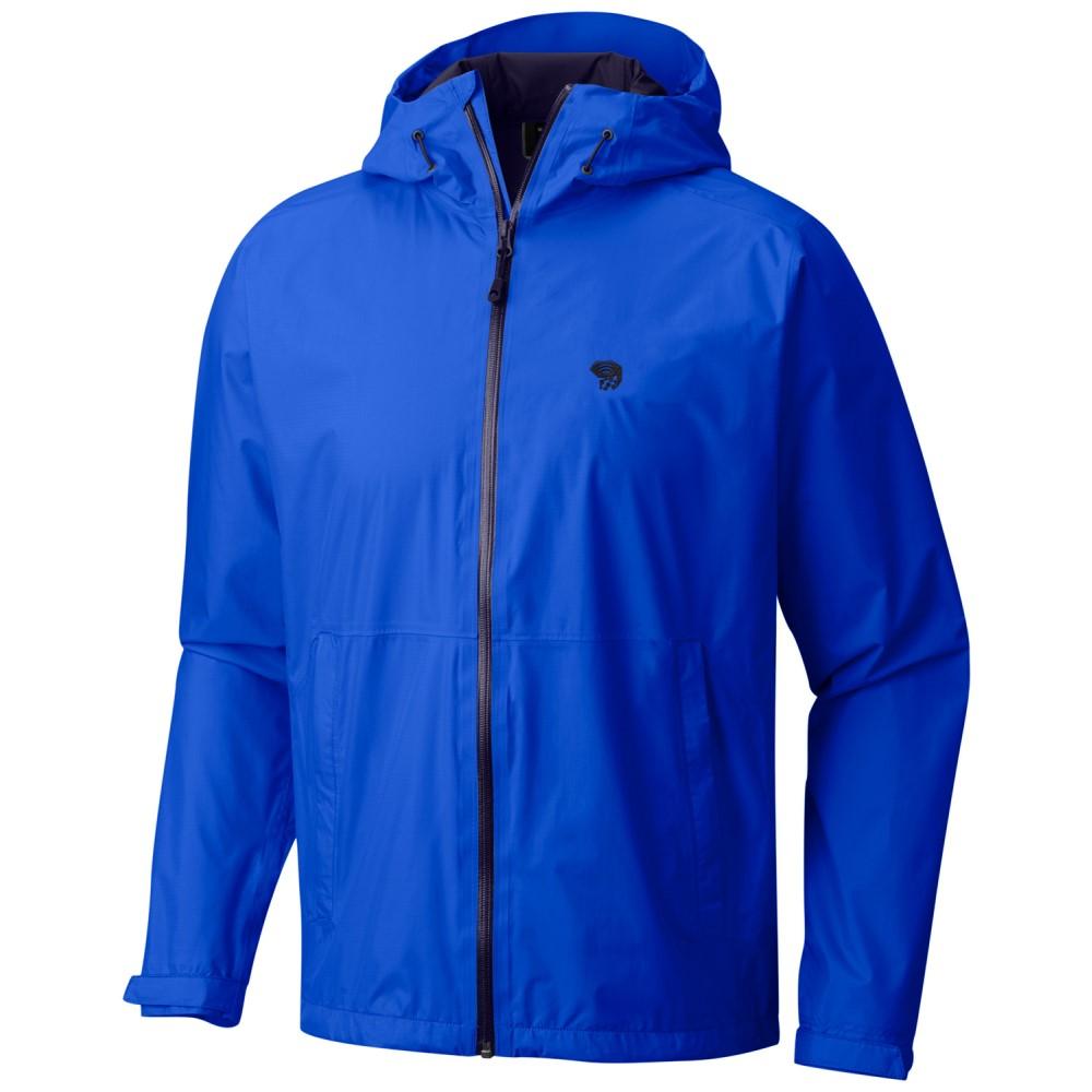 マウンテンハードウェア メンズ アウター レインコート【Finder Jacket】Altitude Blue