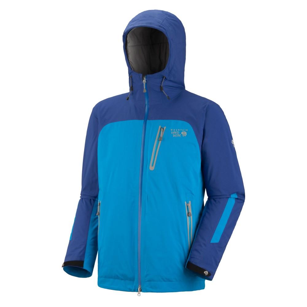 マウンテンハードウェア メンズ アウター レインコート【Gravitor Insulated Jacket】Blue Chip/ Blue Horizon