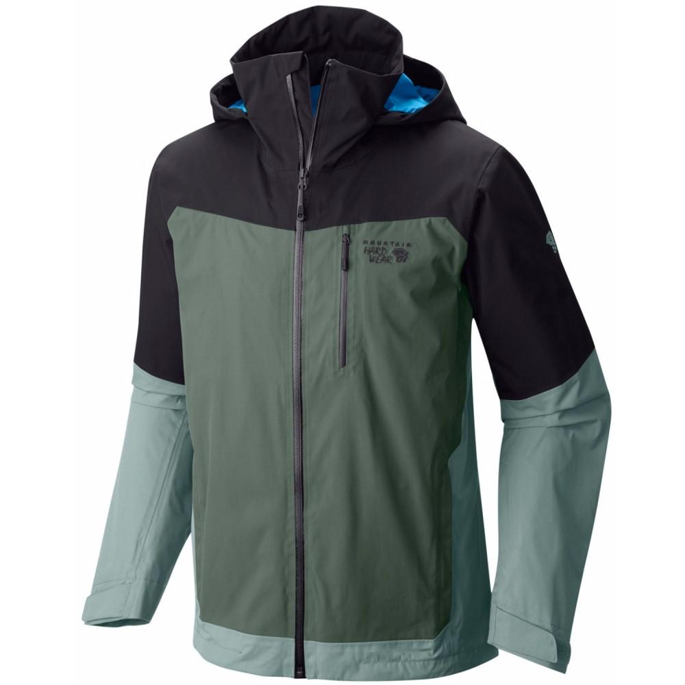 マウンテンハードウェア メンズ スキー・スノーボード アウター【Dragon's Back Ski Jacket】Black/ Thunderhead Grey