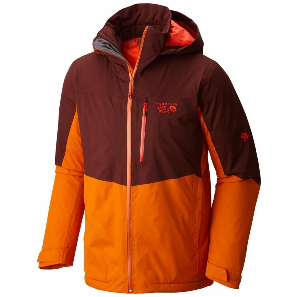 マウンテンハードウェア メンズ スキー・スノーボード アウター【South Chute Ski Jacket】Redwood/ Orange Copper
