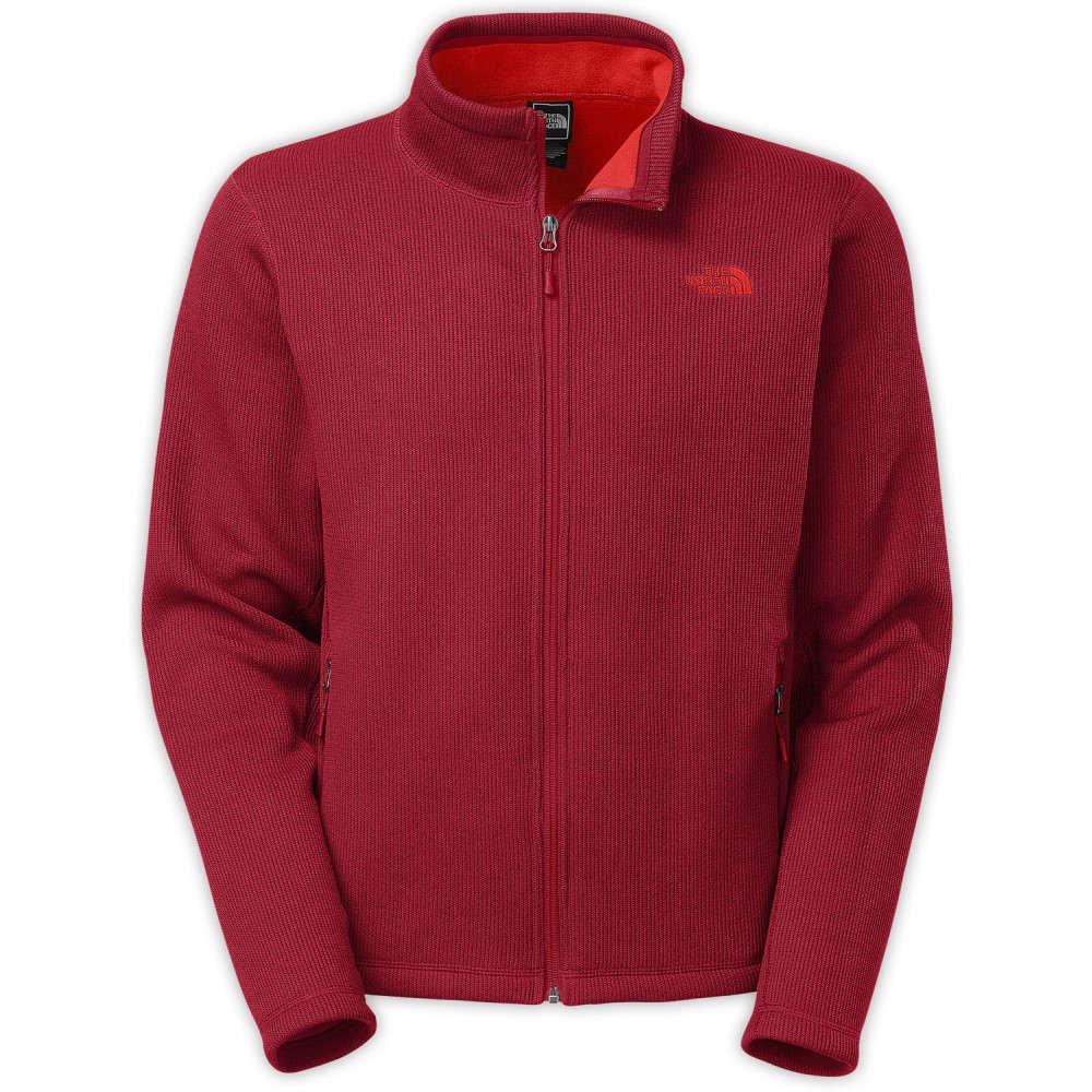 ザ ノースフェイス メンズ トップス フリース【Kretwood Fz Fleece】Biking Red