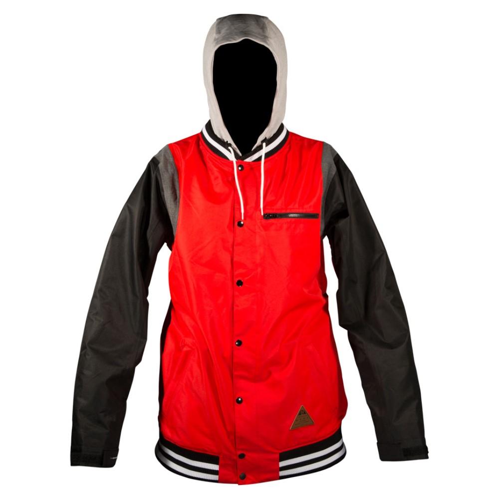 ネフ メンズ スキー・スノーボード アウター【MVP Snowboard Jacket】Red