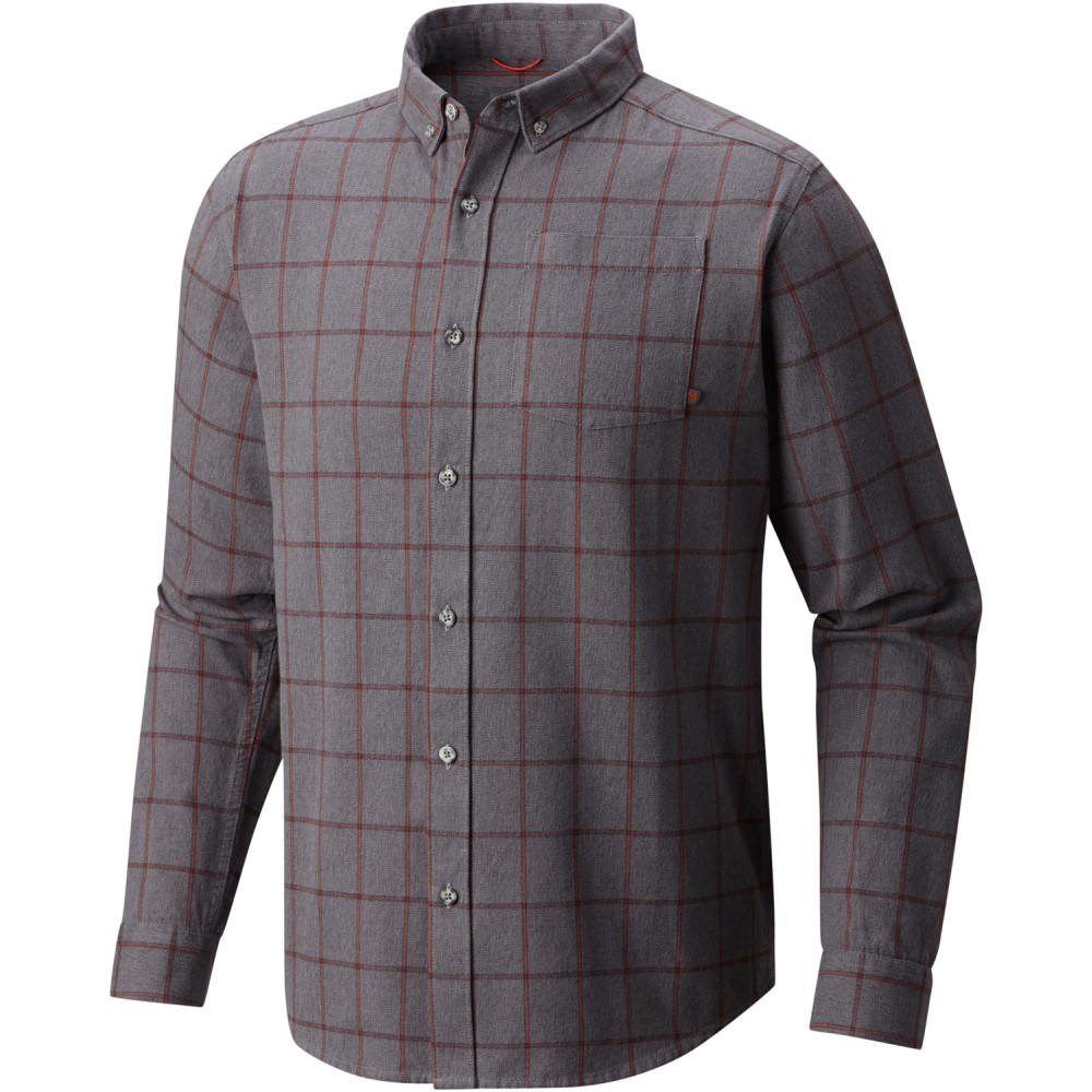 マウンテンハードウェア メンズ トップス【Ashby L/S Shirt】Manta Grey