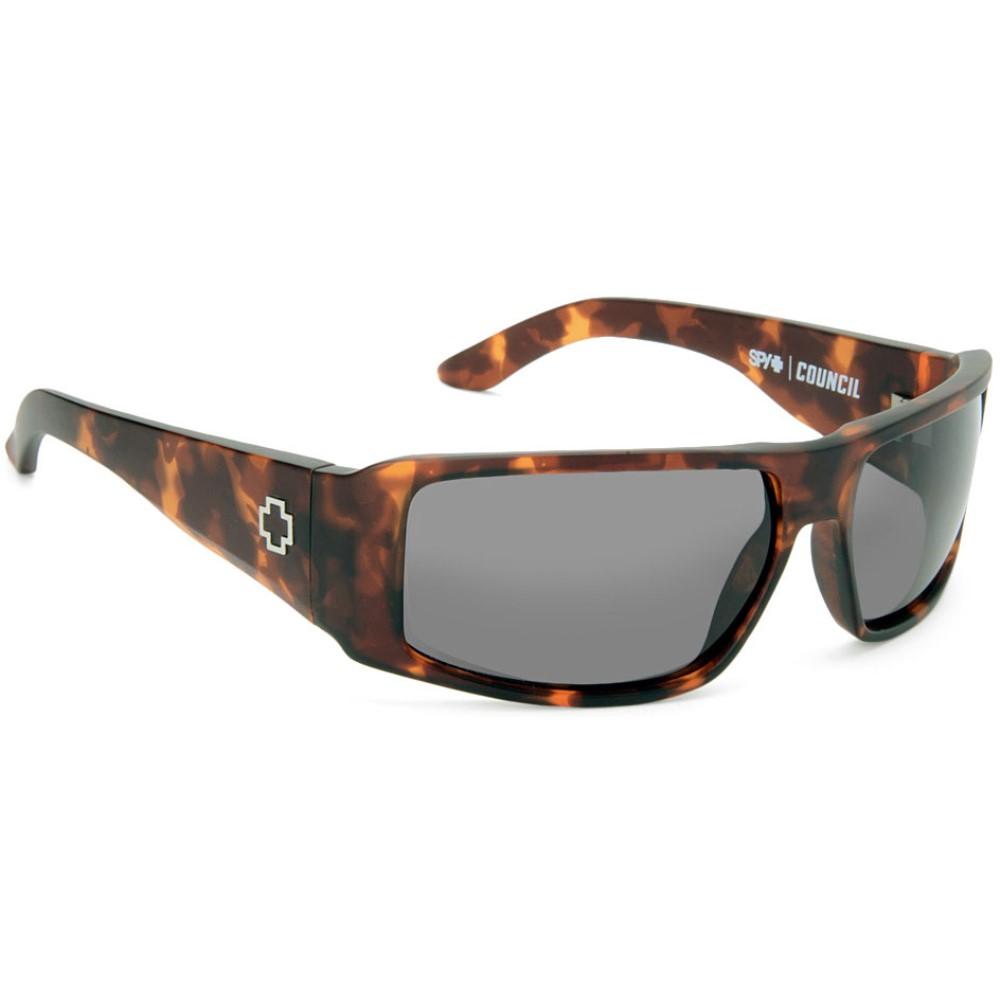 スパイ メンズ メガネ・サングラス【Council Sunglasses】Matte Army Tort/ Grey Lens