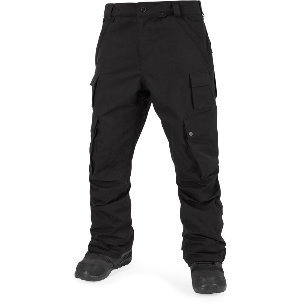ボルコム メンズ スキー・スノーボード ボトムス・パンツ【Militia Snowboard Pants 2018】Black