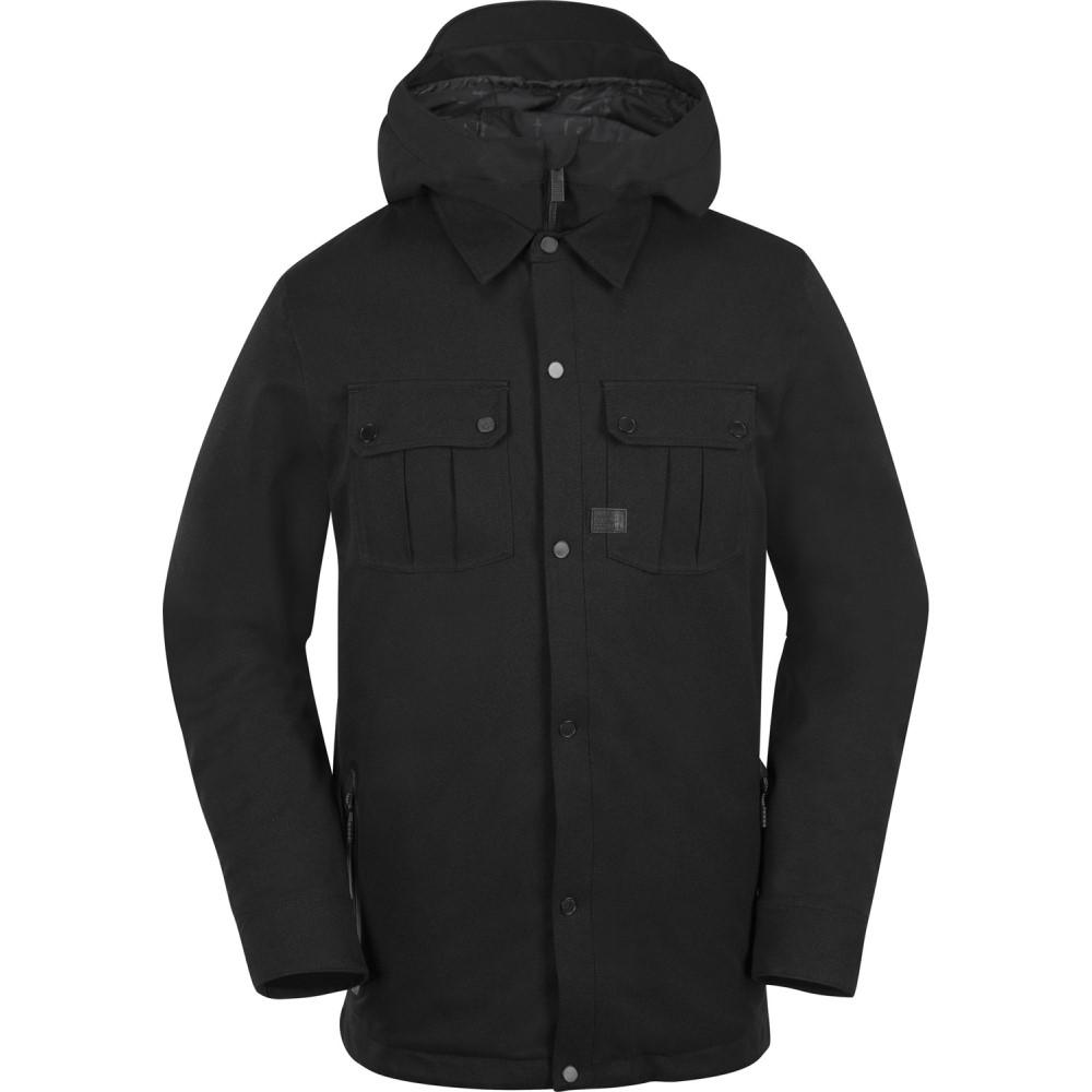 ボルコム メンズ スキー・スノーボード アウター【Creedle2Stone Snowboard Jacket 2018】Black