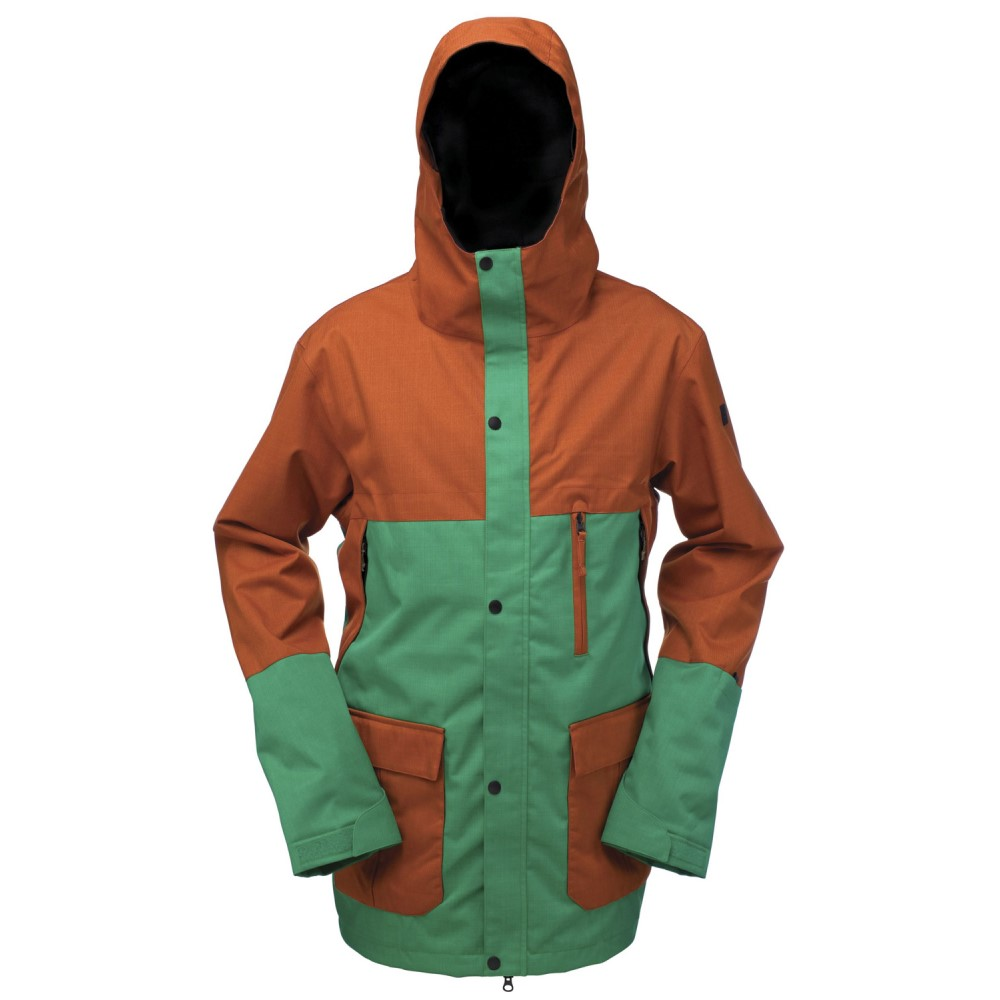 ライド メンズ スキー・スノーボード アウター【Ballard Snowboard Jacket】Kelly Green