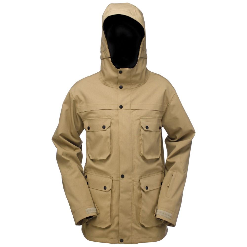 ライド メンズ スキー・スノーボード アウター【Rainier Insulated Snowboard Jacket】Dark Khaki