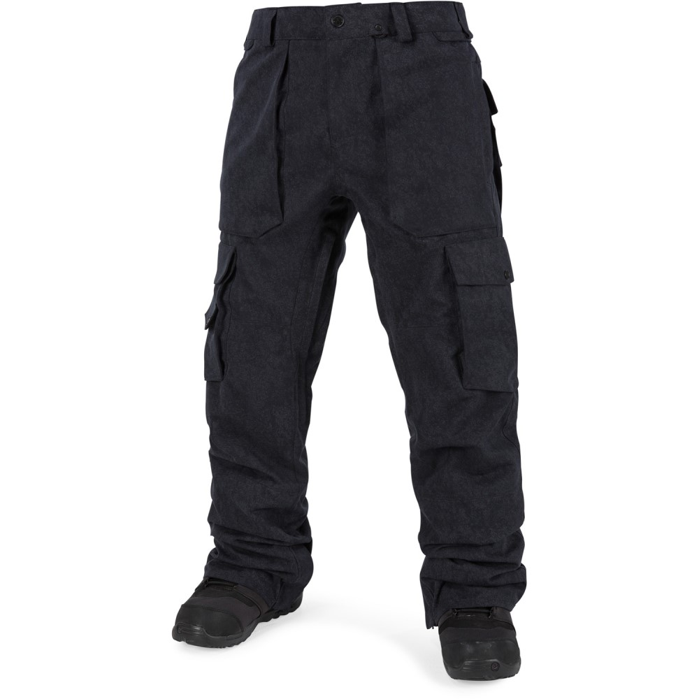 ボルコム メンズ スキー・スノーボード ボトムス・パンツ【GI Snowboard Pants 2018】Black