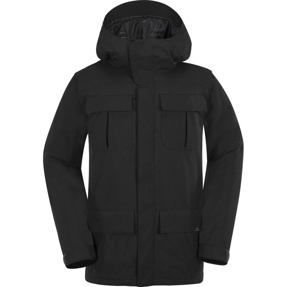 ボルコム メンズ スキー・スノーボード アウター【Alternate Snowboard Jacket 2018】Black