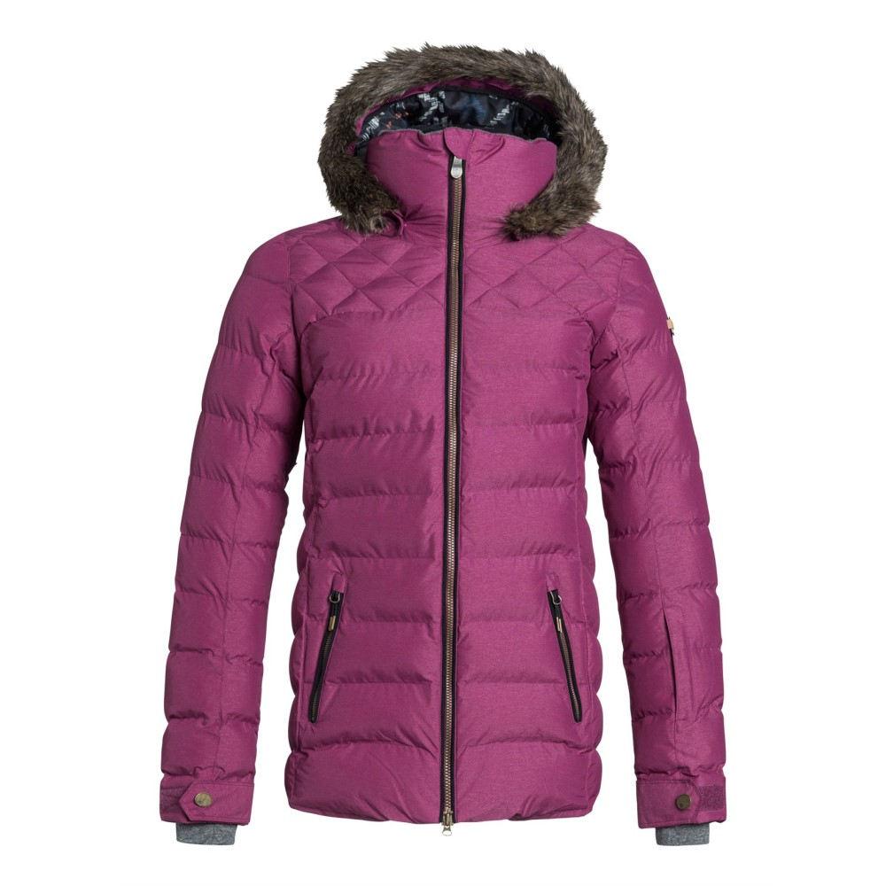 ロキシー レディース スキー・スノーボード アウター【Quinn Snowboard Jacket】Magenta Purple