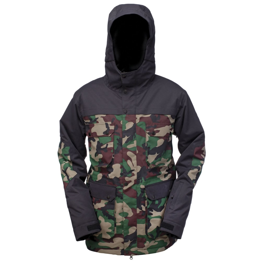 ライド メンズ スキー・スノーボード アウター【Rainier Insulated Snowboard Jacket】Camo