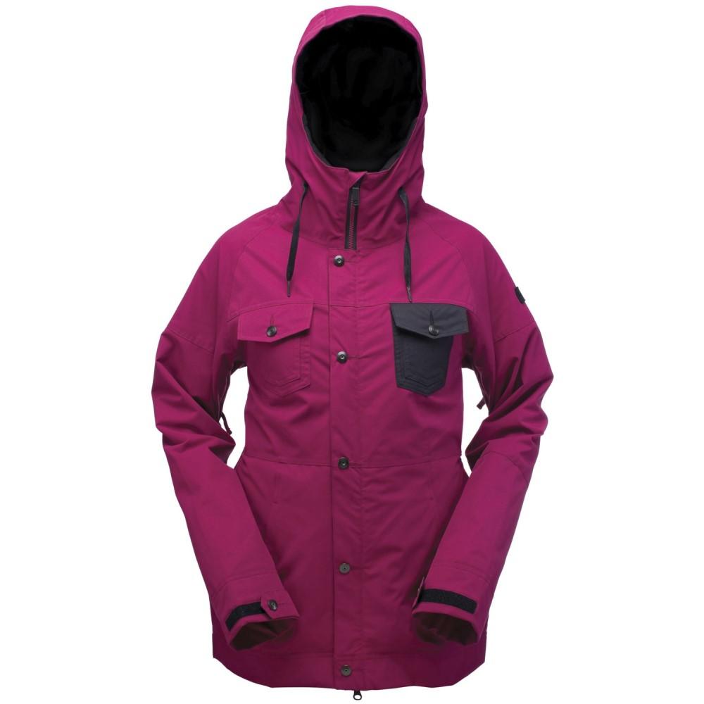 ライド レディース スキー・スノーボード アウター【Somerset Snowboard Jacket】Raspberry