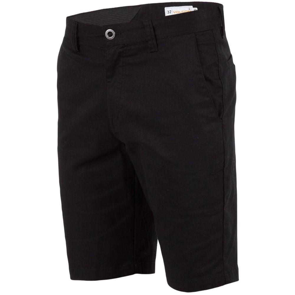 ボルコム メンズ ボトムス・パンツ ショートパンツ【Frickin Modern Stretch Shorts】Black