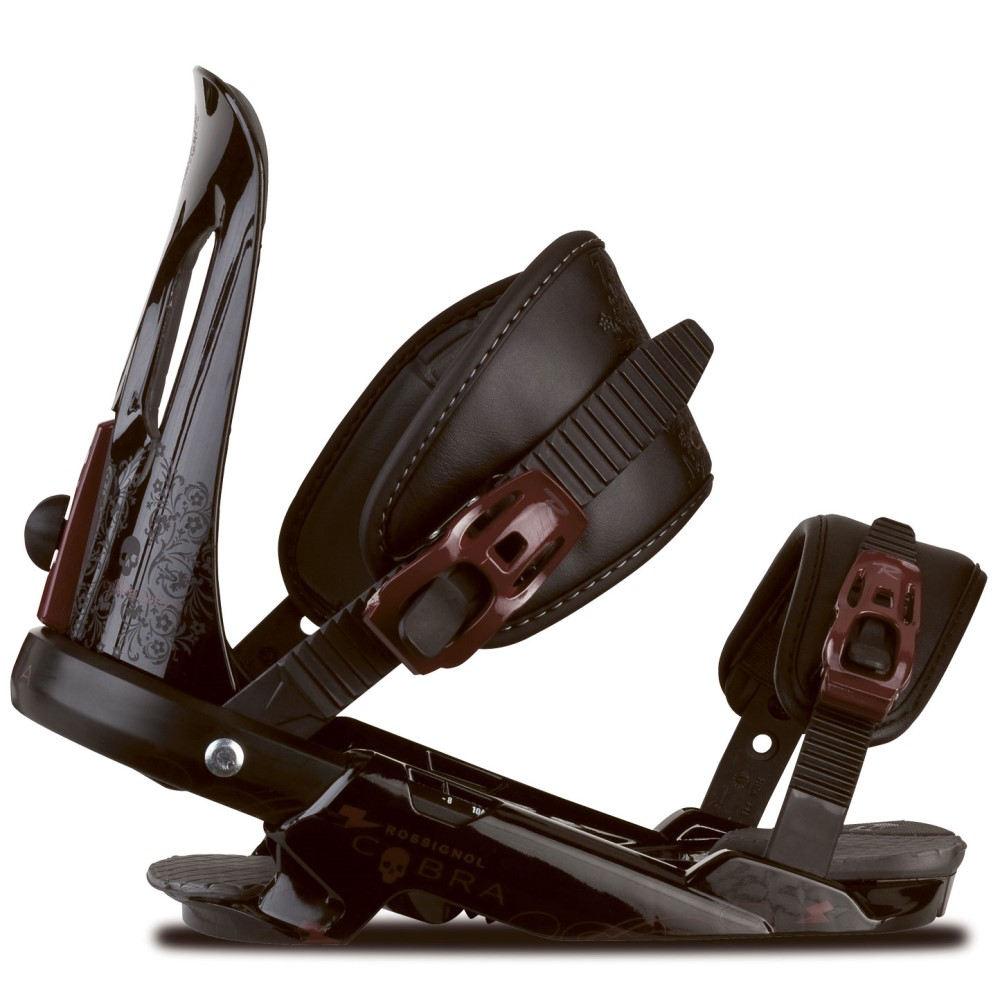 ロシニョール メンズ スキー・スノーボード ビンディング【Cobra V1 Snowboard Bindings】Black