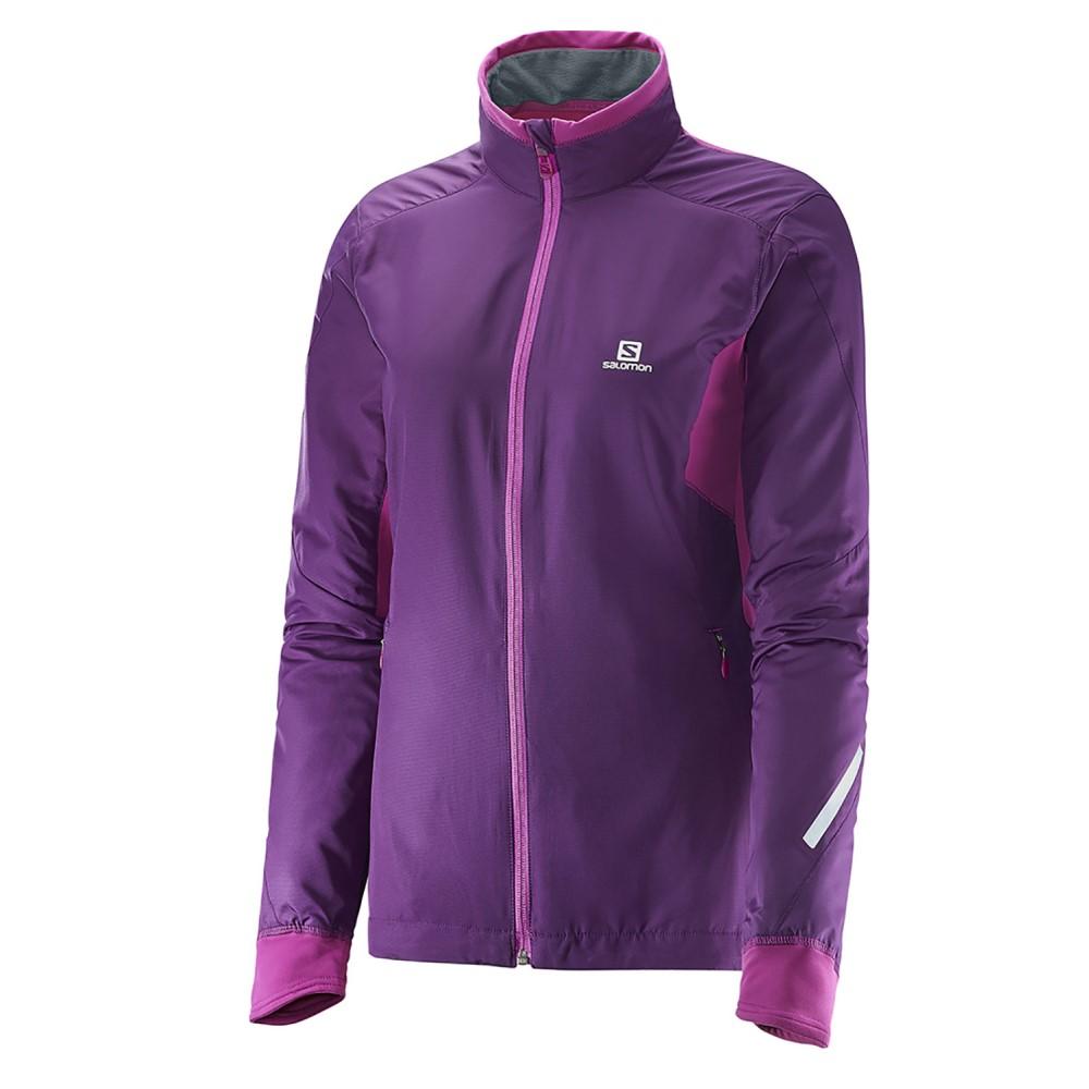 サロモン レディース スキー・スノーボード アウター【Escape XC Ski Jacket】Cosmic Purple/ Aster Purple