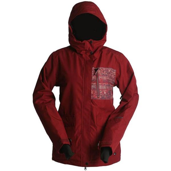 ライド レディース スキー・スノーボード アウター【Bryant Snowboard Jacket】Pomegranate/ Print
