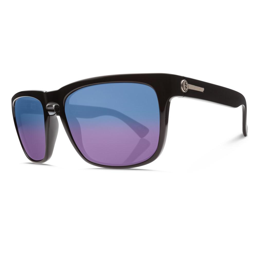 エレクトリック メンズ メガネ・サングラス【Knoxville XL Sunglasses】Gloss Black/ M Blue Polarized Lens