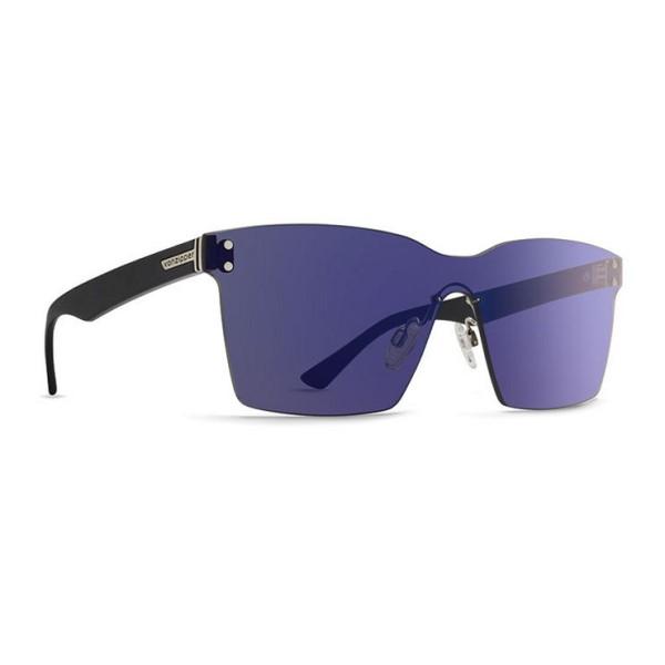 ボンジッパー メンズ メガネ・サングラス【Alt Lesmore Sunglasses】Black Gloss/ Flash Blue Lens