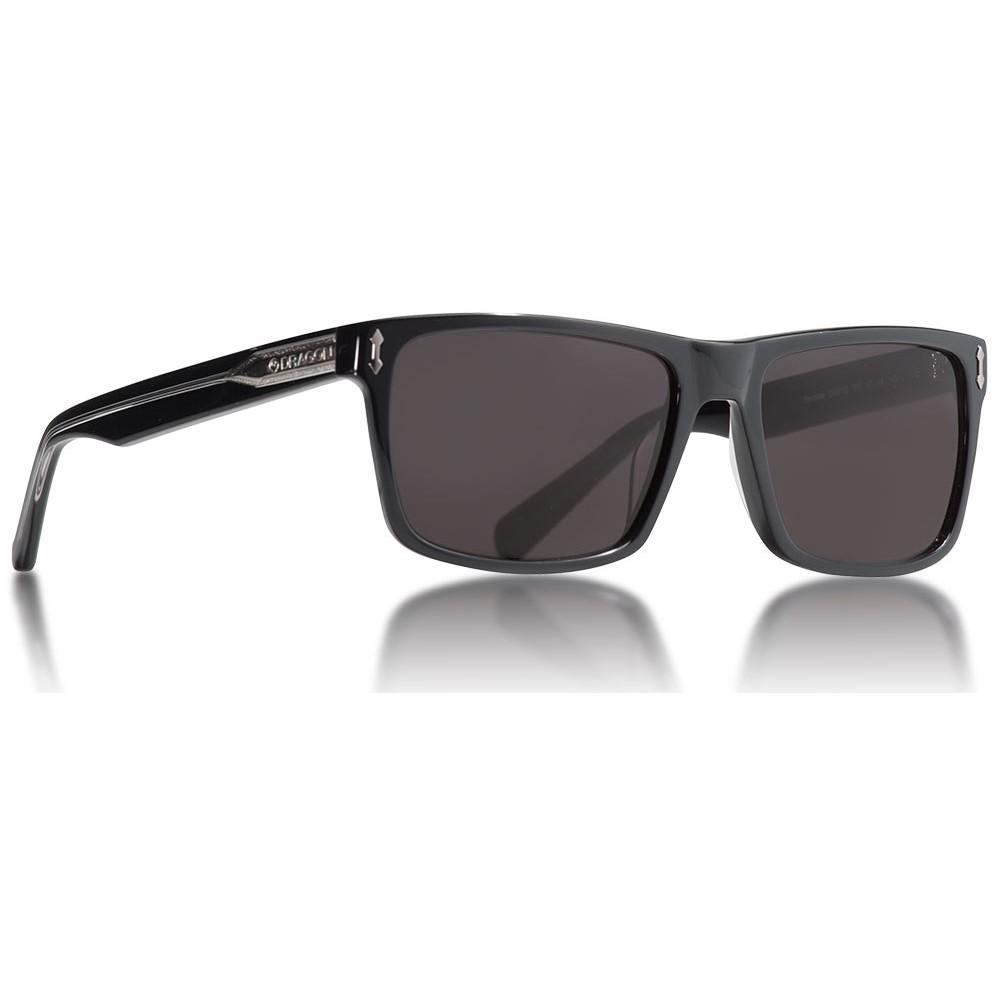 ドラゴン メンズ メガネ・サングラス【Blindside Sunglasses】Shiny Black/ Smoke Lens