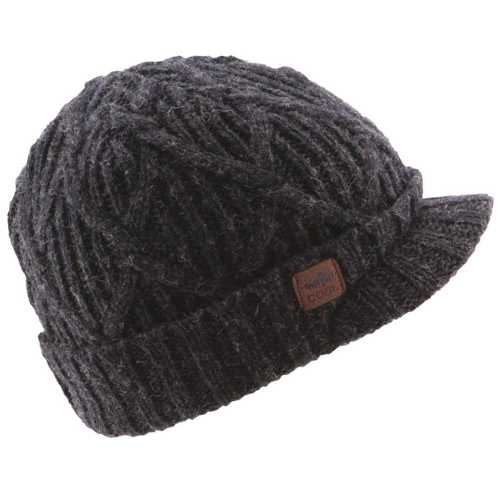 コール メンズ 帽子 ニット【Yukon Brim Beanie 2018】Black