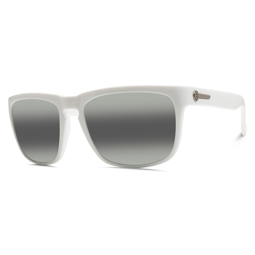 エレクトリック メンズ メガネ・サングラス【Knoxville Sunglasses】Alpine White/ M Grey Bi- Gradient Lens