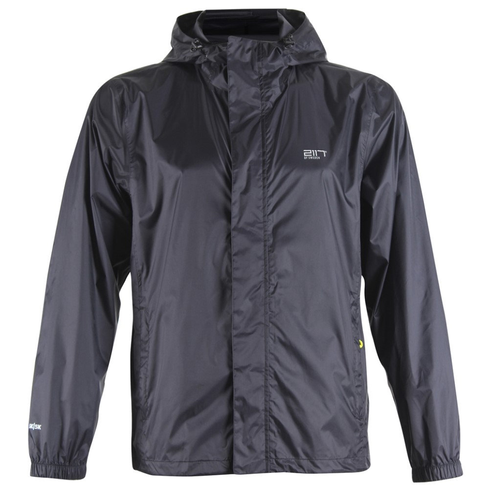 2117オブ スウェーデン メンズ アウター レインコート【Vara Packable Rain Jacket】Black