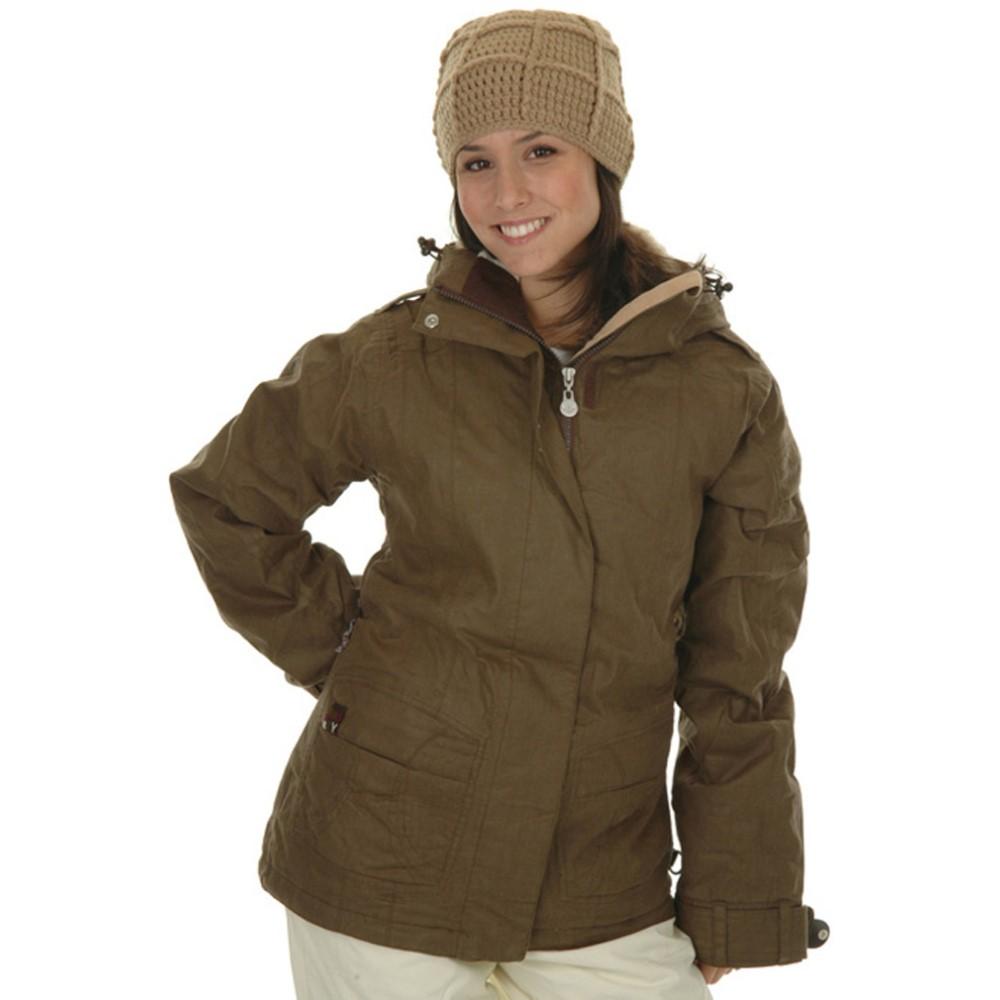ロキシー レディース スキー・スノーボード アウター【Pearl Snowboard Jacket】Brown