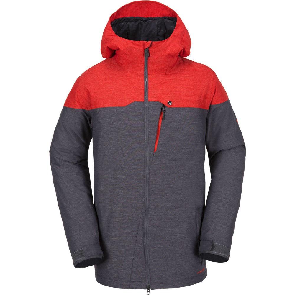 ボルコム メンズ スキー・スノーボード アウター【Prospect Insulated Snowboard Jacket 2018】Fire Red