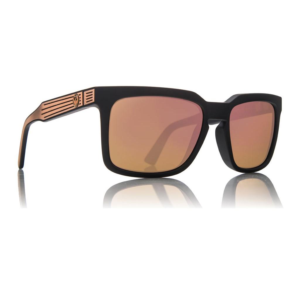 ドラゴン メンズ メガネ・サングラス【Mr Blonde Sunglasses】Matte Black/ Rose Gold Ion Lens