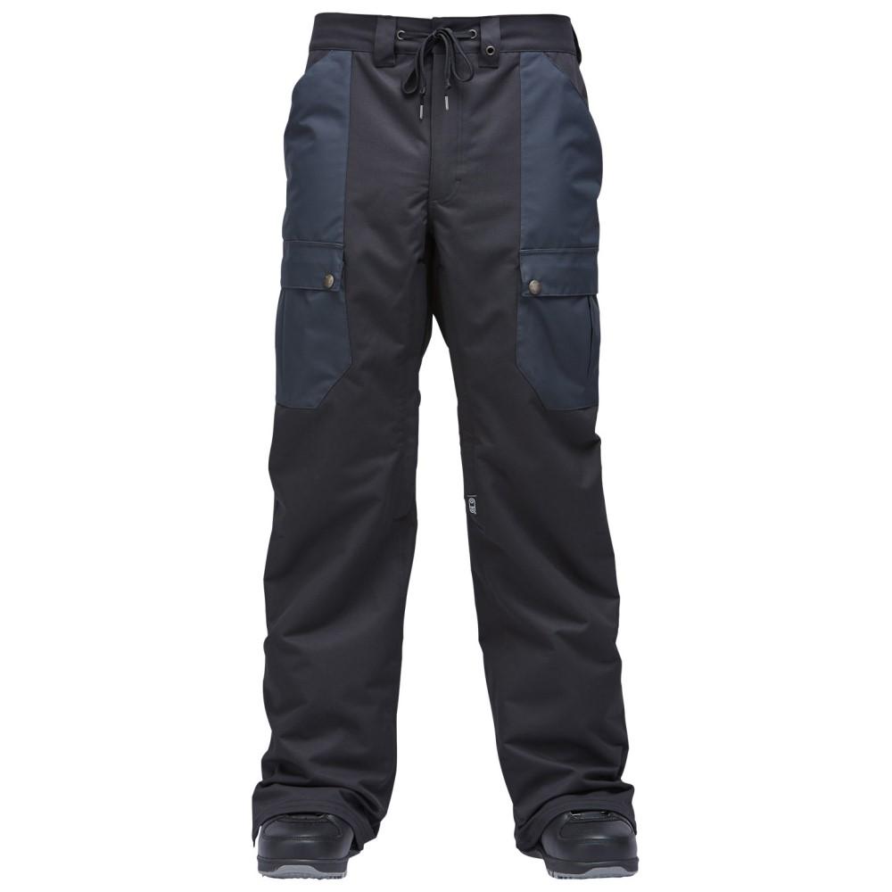 エアブラスター メンズ スキー・スノーボード ボトムス・パンツ【Freedom Cargo Snowboard Pants 2018】Black
