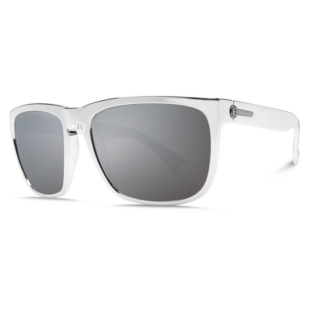 エレクトリック メンズ メガネ・サングラス【Knoxville XL Sunglasses】Black Chrome/ M Grey Silver Chrome Lens